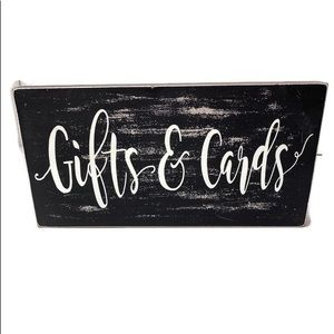 Gifts & Cards Wood Decor Wedding Table Decor